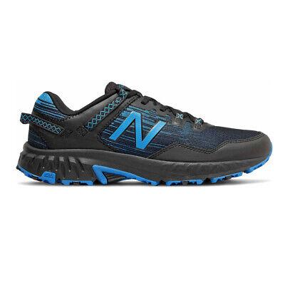 New Balance Hombre 410v6 Sendero Correr Zapatos Zapatillas - Negro Azul Deporte