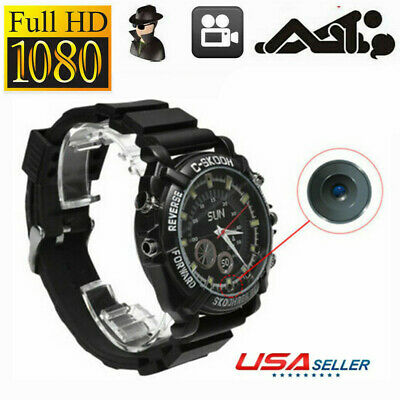 32GB Spy Wrist Watch Mini HD Hidden Camera Record Video DVR DV Camcorder SPD