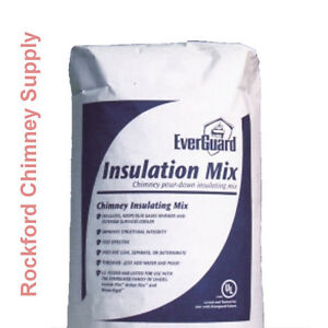 Chimney Insulation Mix Pour Down Chimney Liner Insulation