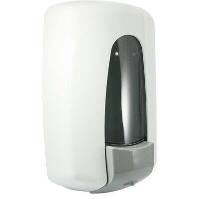 Jofel AZUR Seifenspender weiß Kunststoff 1 Liter mit Sichtfenster
