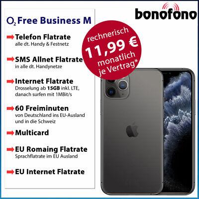 Bundle Aktion! Apple iPhone 11 Pro 64GB o2 Free Business M|15GB Internet Flat online kaufen