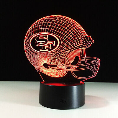 San Francisco 49ers Colin Kaepernick LED Light Lamp Collectible NFL Home Decor](49ers Decorations)