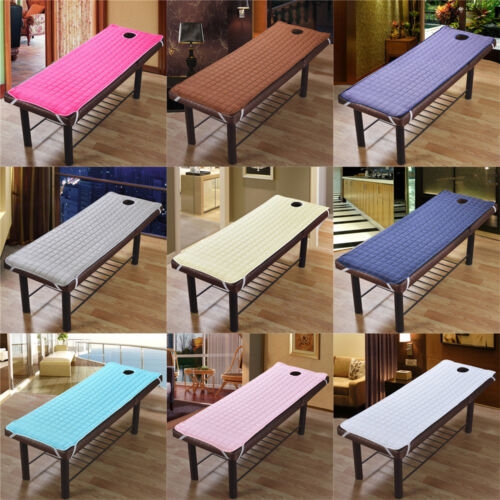 1 Piece Solid Color Massage Table Bed Pad Beauty Salon Spa T