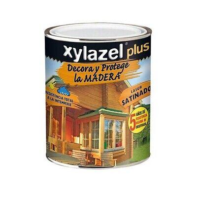 Lasur Xylazel Plus satinado teca 750 M
