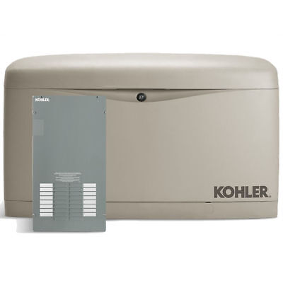 Kohler 20kw Composite Standby Generator System 100a Indoor 16-circuit Switch