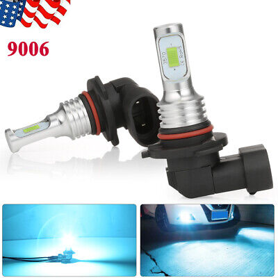 9006 160W LED Headlight Bulbs High/Low Beam 8000LM Super Bright 8000K Ice