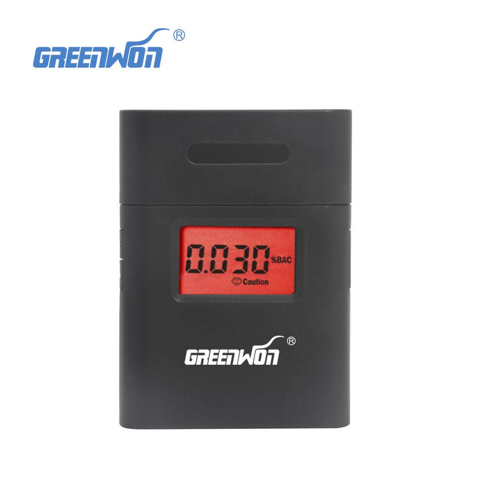 Professional Portable Breath Alcohol Analyzer Digital Breathalyzer Tester