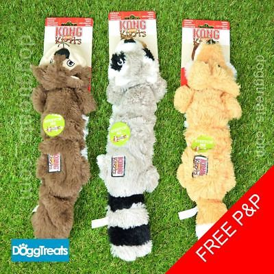 og Toy - Fox Racoon Squirrel - Stretch Rope Squeak Chew (Squirrel Dog Toy)