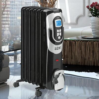 Eléctrico Aceite Radiador Heiz Aparato Cuerpo 7 Partes Calefacción Heater Keller