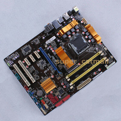 ASUS P5Q TURBO LGA 775/Socket T Intel P45 Motherboard ATX DDR2 for sale  Shipping to Ireland