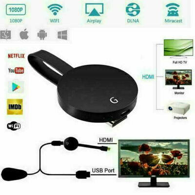 For Chromecast 4th Generation 1080P Digital HDMI TV Media Video Streamer Players
