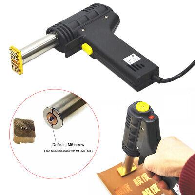 Manual Hot Foil Stamping Diy Logo Heating Embossing Stamp Machine Logo Leath Us