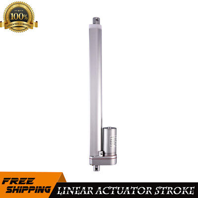 "15cm New 12V DC Electric 6000N High-thrust 5.9/"" Stroke Linear Actuator Motor"