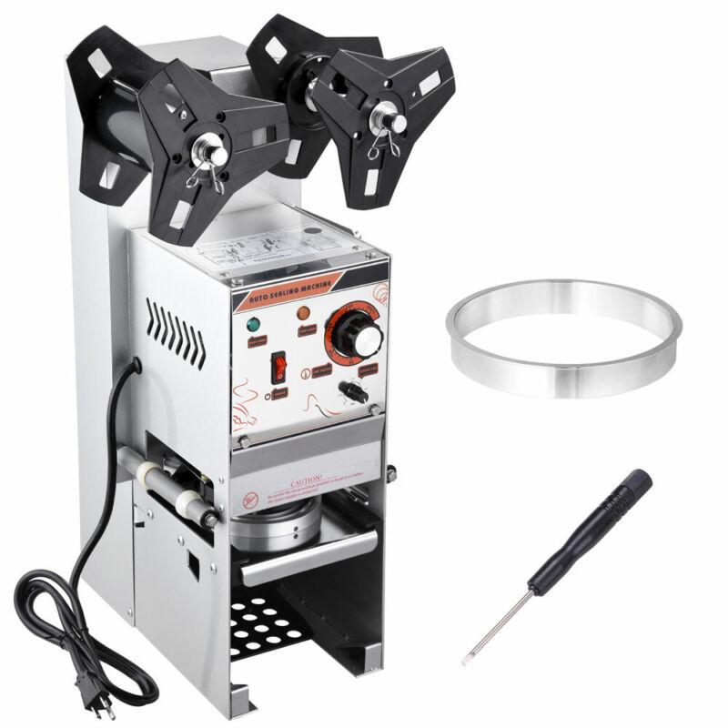Electric Semi-automatic Bubble Tea Coffee Cup Sealer Machine 400-600 Cups/Hr
