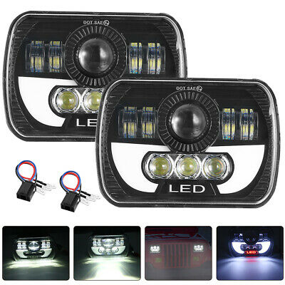 "2pcs 7x6"" LED Headlight Hi/Lo Beam For Chevy Express Cargo Van 1500 2500 3500 US"