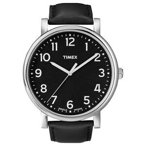 Timex Originals Easy Reader Indiglo Gents Watch White/Black/Brown/Blue Strap