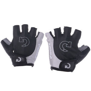 Cycling Bicycle Motorcycle Sport Gel Half Finger Gloves Size  M L XL Four Colors