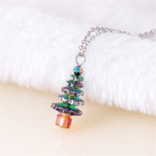 Xmas Ckain Vintage Accessories Necklace Changing Necklaces Color Pendant
