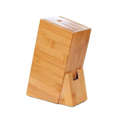 - Kitchen cutter  Holder Shelf Rack Storage Bamboo cutter Block Cutting Tool F5R6