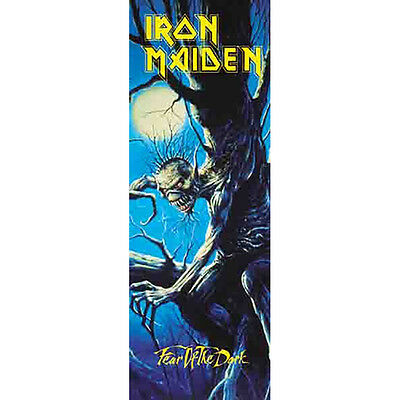 """IRON MAIDEN Fear Of The Dark DOOR Tapestry Cloth Poster Flag Wall Banner 21""""x58"""""""