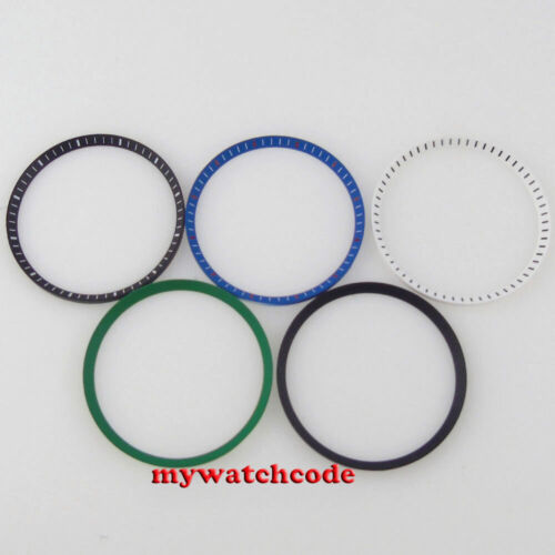 Black blue white green Chapter Ring for Japan SKX007 fits 7S26-0020 MOD Part