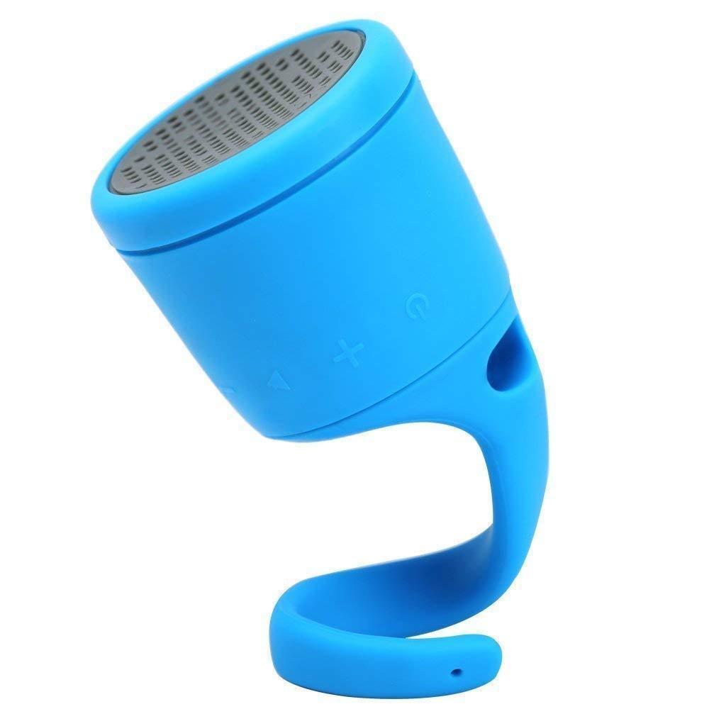 BOOM Swimmer Waterproof Wireless Bluetooth Speaker Blue. Openbox New retail Pack