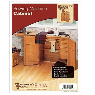 Sewing Machine Cabinet Plan - Media   Woodworking Plans   Indoor Project Plans