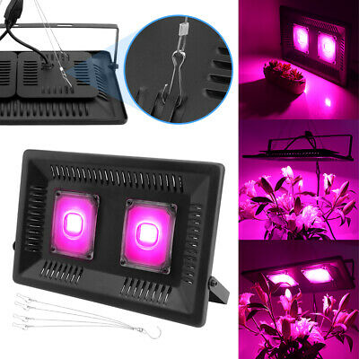 100W LED COB Grow Light Lamp Full Spectrum UV Veg Bloom Indoor Plants Hydroponic