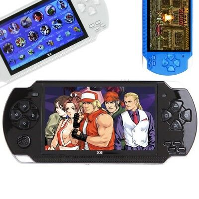 Portable 4 3 Psp9 Handheld Game Console Built In 10000 Games 8Gb Tf Card Cam