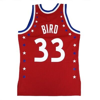 Larry Bird 1983 NBA All Star East Mitchell & Ness Authentic Red Jersey Men's