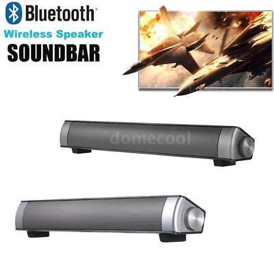 10W Bluetooth TV Home Theater Soundbar Wireless Speaker System TF AUX USB A6K1