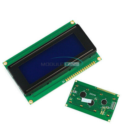 3.3v 2004 20x4 Character Lcd Display Module Wtutorialhd44780 Controller Blue