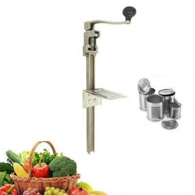 11 Commercial Kitchenrestaurantbar Food Can Opener Table Tool Stainless Steel