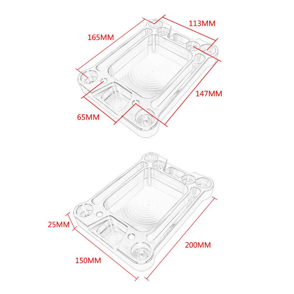 New Billet Shifter Box Base Plate for honda Civic Integra