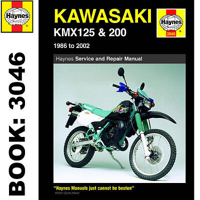 Kawasaki KMX125 KMX200 NS125 1986-2002 Haynes Workshop Manual