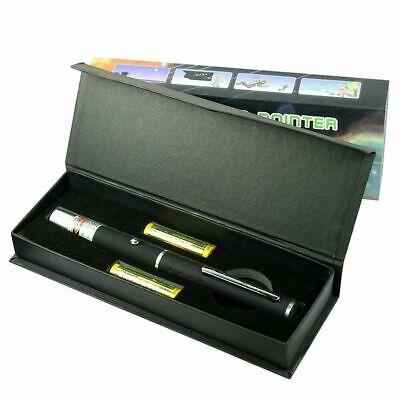 High Power 5mw Bright Green Dot Beam Laser Pointer Pen With Storage Case