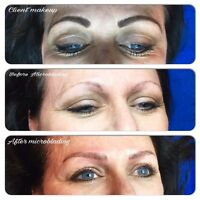 Wake up beautiful by permanent makeup?$100 off eyebrows special)
