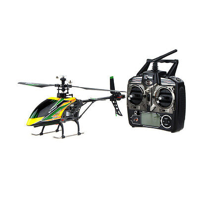 US WLtoys In a body V912 4CH Single Blade RC Remote Control Helicopter With Gyro RTF