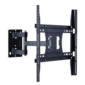 TV Wall Mount Bracket Tilt & Swivel  32 37 39 40 42 46 47 48 50 Inch For Samsung