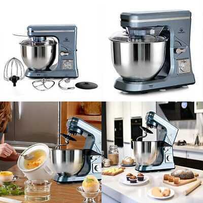Stand Mixer MK36 500W 5 Qt 6 Speed Tilt Head Kitchen Food W Accessorie GREY BLUE
