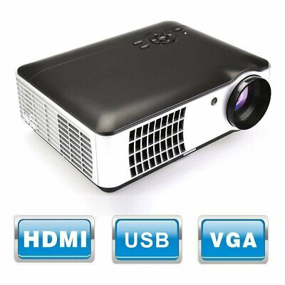 RD806A 4K LED Projector 2800Lumen Beamer 3D HD 1080P Portable LCD Home Theatre