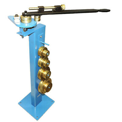 180 Degree Pedestal Pipe Tube Bender 14 To 58 3d 5d Dies