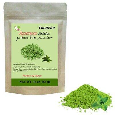 Premium 1lb Japan Tmatcha Matcha Green Tea Powder Pure Natural Gluten Free&Vegan
