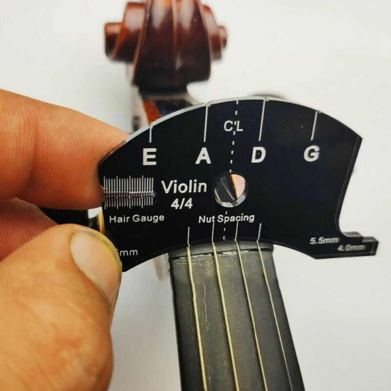 Violin Bridges Multifunctional Template 4/4 Violin Bridges Repair Reference Tool