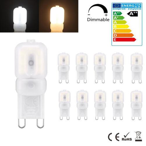 G9 5W LED Dimmbar Kapsel-Birne ersetzen Halogen Glühlampe Lampen Kaltweiß 220V