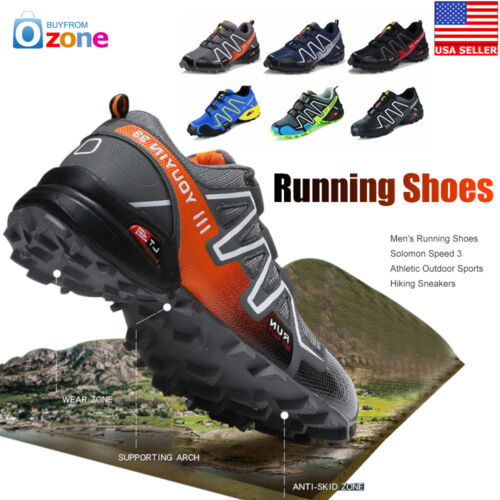 Men/'s Running Shoes Speed 3 Athletic Outdoor Sports Hiking Sneakers 2019 Newest