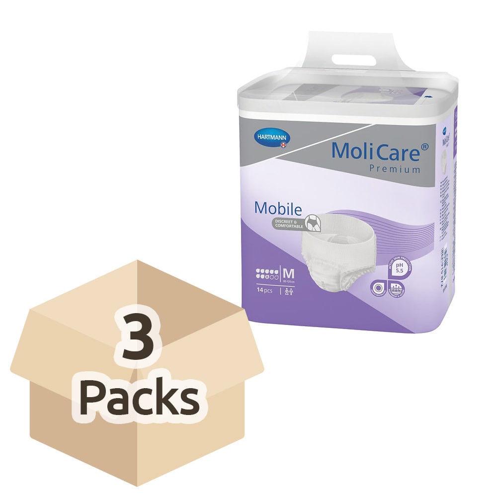 Molicare Premium Mobile 8 gouttes Medium 3x14p