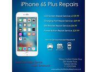 iPhone7 6s/6 Plus/5s/5c/5/4s LCD Glass Screen Digitiser Repair Service Welwyn Hatfield Hertfordshire