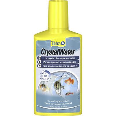 250 Ml Water Clarifier (Tetra Crystal Water Clear Clarifier Aquarium Cleaner Cloudy 250ml Fish Tank )