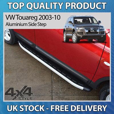 VW TOUAREG ALTITUDE onwards 2002 RUNNING BOARD STEP BAR SIDE STEPS BOARD STYLISH